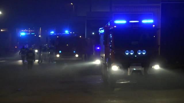 Pożar fabryki mebli w Wielkopolsce. 750 osób zostało ewakuowanych