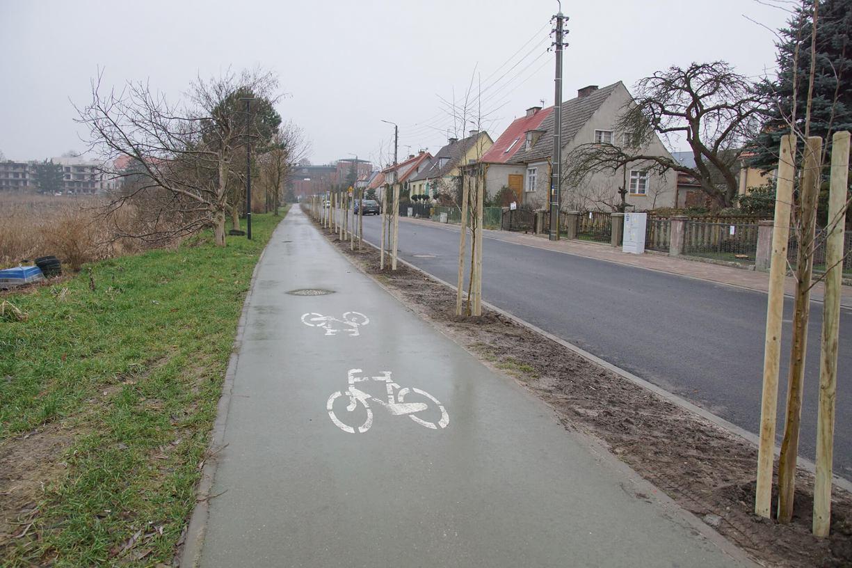 Ulica Jeziorna w Człuchowie już po remoncie