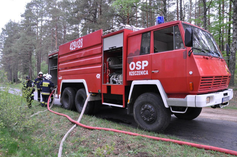 Steyr OSP w Rzeczenicy naprawiony. Druhowie niezmiennie starają się jednak o wymianę tego wozu na nowy