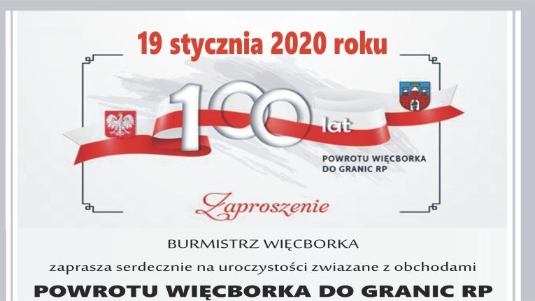 Marszałek Senatu dziś w Więcborku na obchodach 100-lecia powrotu miasta w granice Polski