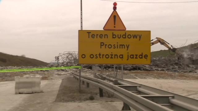 Wyburzenie sześciu wiaduktów na A1. Odcinek od Tuszyna do Piotrkowa Trybunalskiego w weekend zamknięty