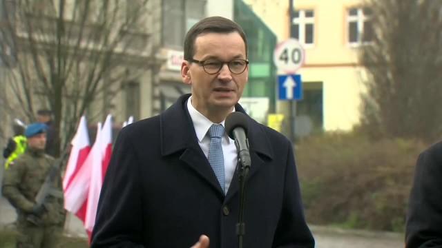 Premier: Państwo rosyjskie próbuje fałszować polską historię