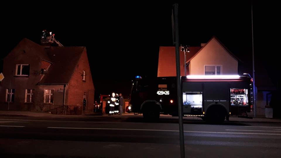 Strażacy z Rzeczenicy nie doczekali końca dyskusji o nowym wozie bojowym. Pojechali na akcję