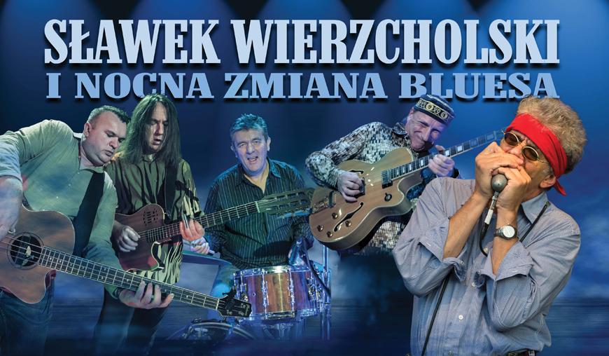 W Chojnickim Centrum Kultury odbędzie się dziś (23.01.) koncert Sławka Wierzcholskiego z zespołem Nocna Zamiana Bluesa
