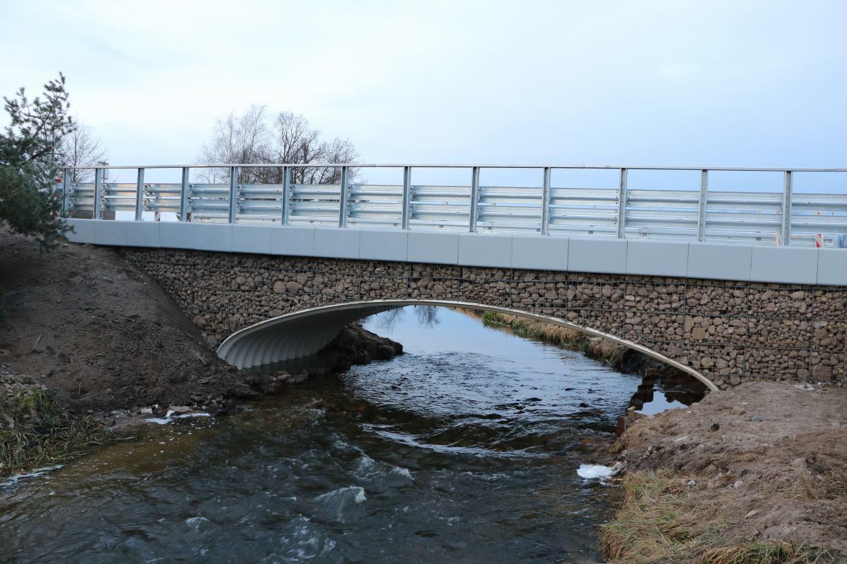 Od czasu nawałnicy był nieprzejezdny. Powstał nowy most łączący powiat sępoleński z tucholskim