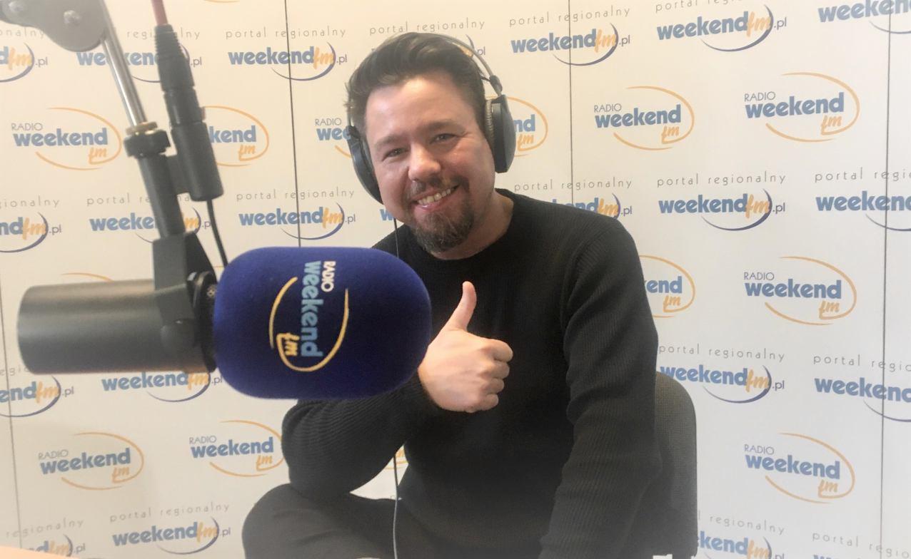 RoomX z Chojnic nagrywa nową płytę. Mateusz Straszewski w Weekend FM