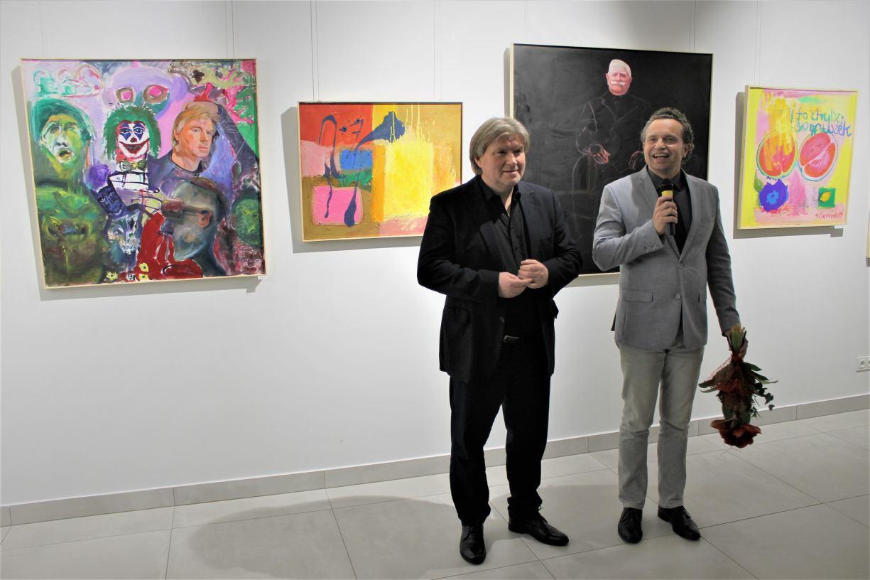 Wernisaż wystawy Andrzeja Ciemińskiego w Chojnickim Centrum Kultury (FOTO)