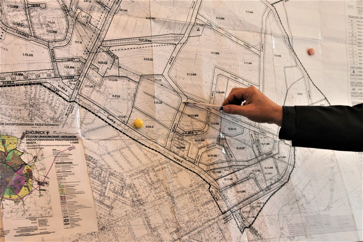 Budowa połączenia między ulicą Gdańską i Kościerską ma być priorytetem dla władz Chojnic