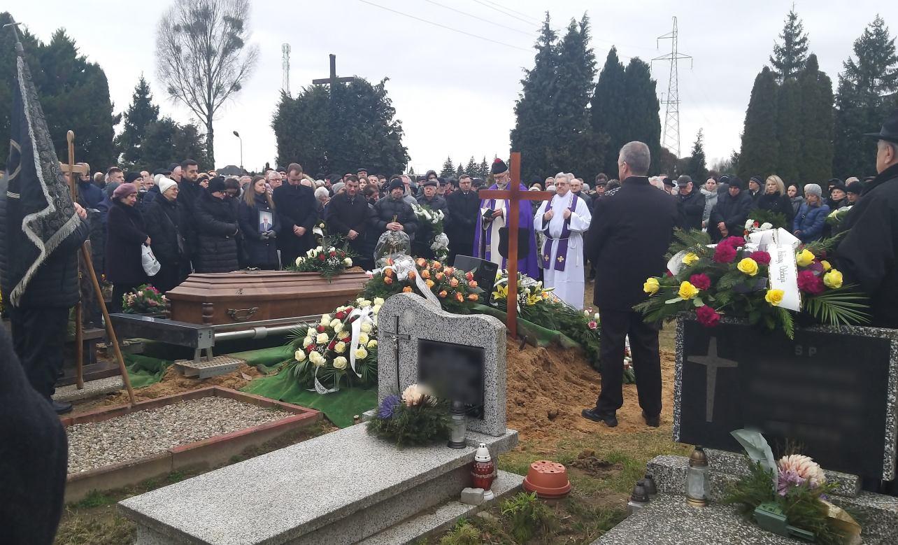 Wieloletni wicestarosta człuchowski Marian Pastucha spoczął na Cmentarzu Komunalnym w Człuchowie