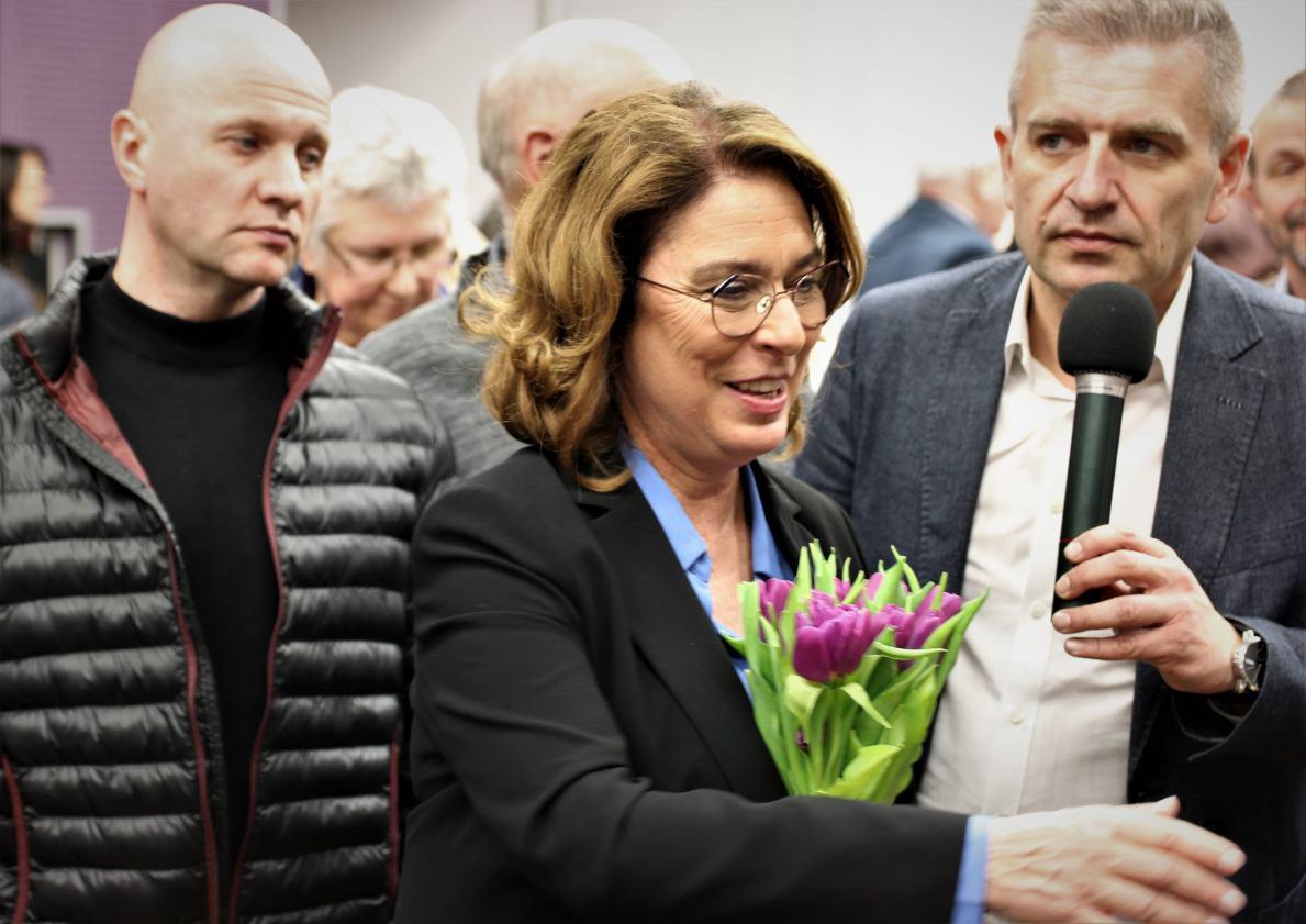 Małgorzata Kidawa-Błońska spotkała się z mieszkańcami Chojnic