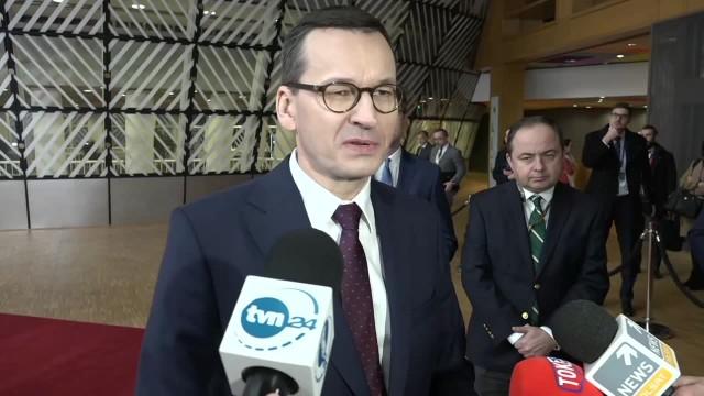 M. Morawiecki o negocjacjach ws. nowego budżetu UE: Nowe propozycje są lepsze od wcześniejszych, nasz upór przynosi efekty