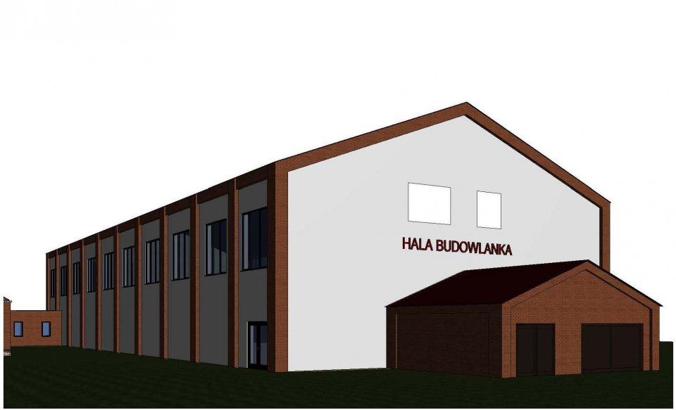 Niebawem rozpocznie się budowa hali sportowej przy Powiatowym Zespole Szkół nr 2 w Kościerzynie
