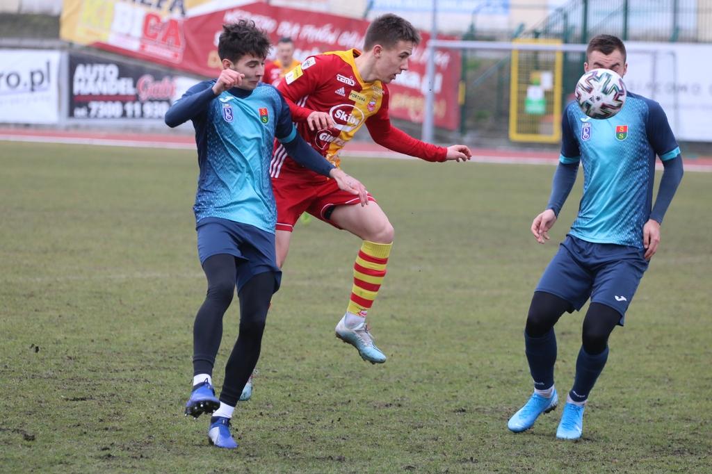 Chojniczanka pokonała 2:0 Radunię Stężyca w ostatnim sparingu przed meczami o pierwszoligowe punkty (FOTO)
