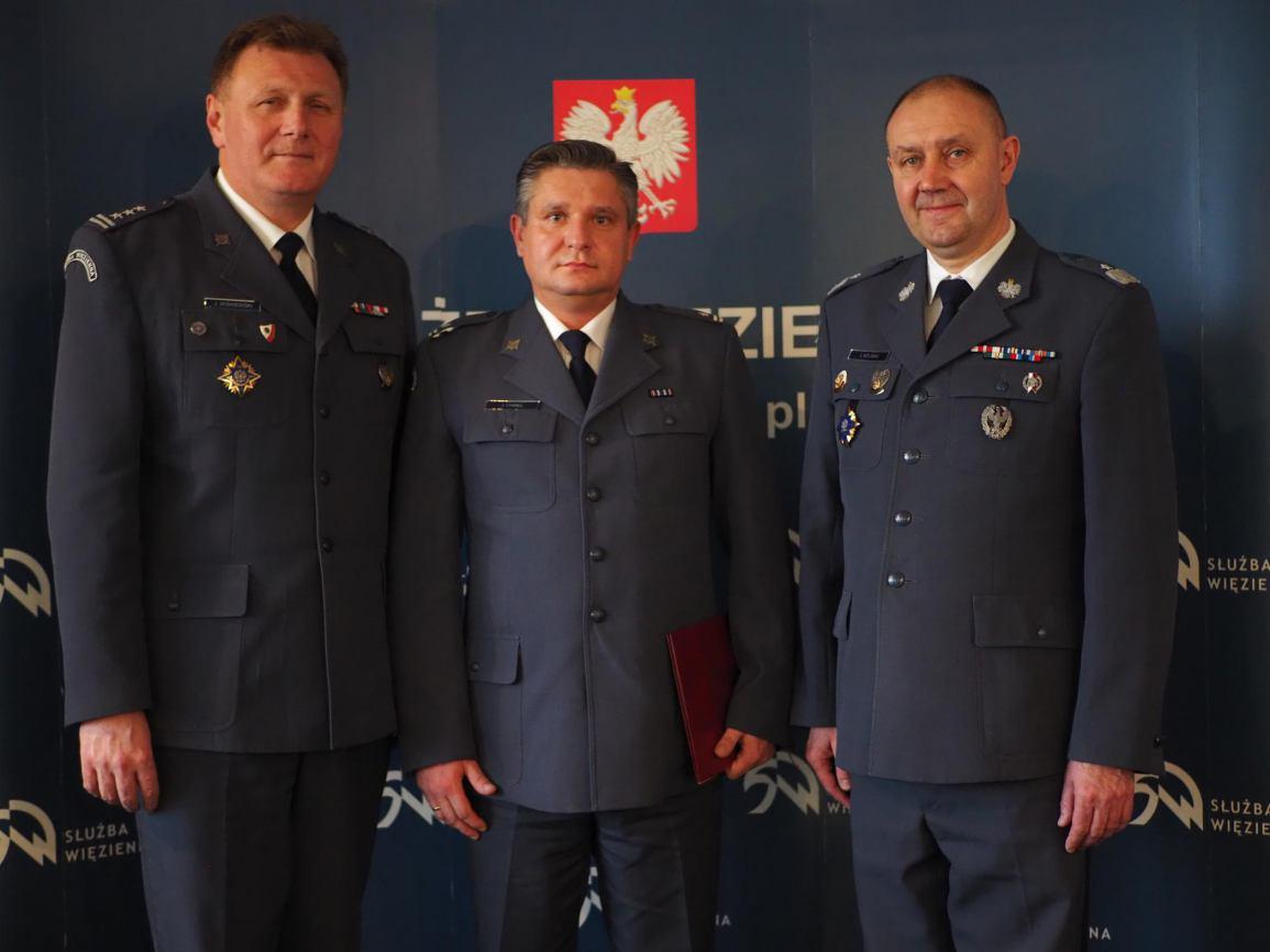 Zakład Karny w Czarnem ma nowego dyrektora. Wojciecha Brzozowskiego zastąpił Jacek Chmiel