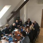 Powiat kościerski:  | Samorządowcy z powiatu kościerskiego spotkali się z zespołem zarządzania kryzysowego. Powodem zagrożenie epidemiologiczne