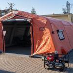 Chojnice:  | Chojnicki szpital dysponuje już namiotem pneumatycznym zakupionym w związku z epidemią koronawirusa