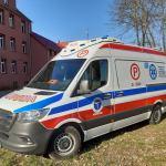 Człuchów:  | Zespół ratownictwa medycznego w Człuchowie korzysta już z nowej karetki (FOTO)