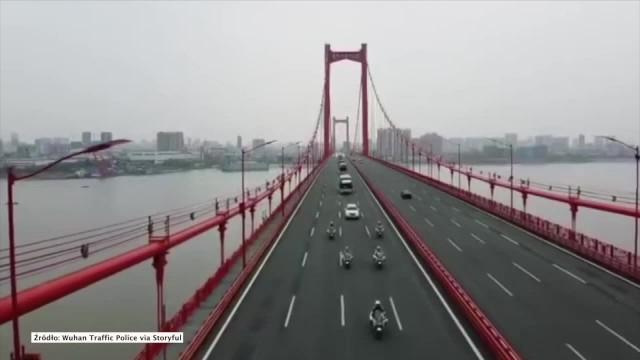 Chiny kończą kwarantannę prowincji Hubei po dwóch miesiącach. Lekarze opuszczają Wuhan