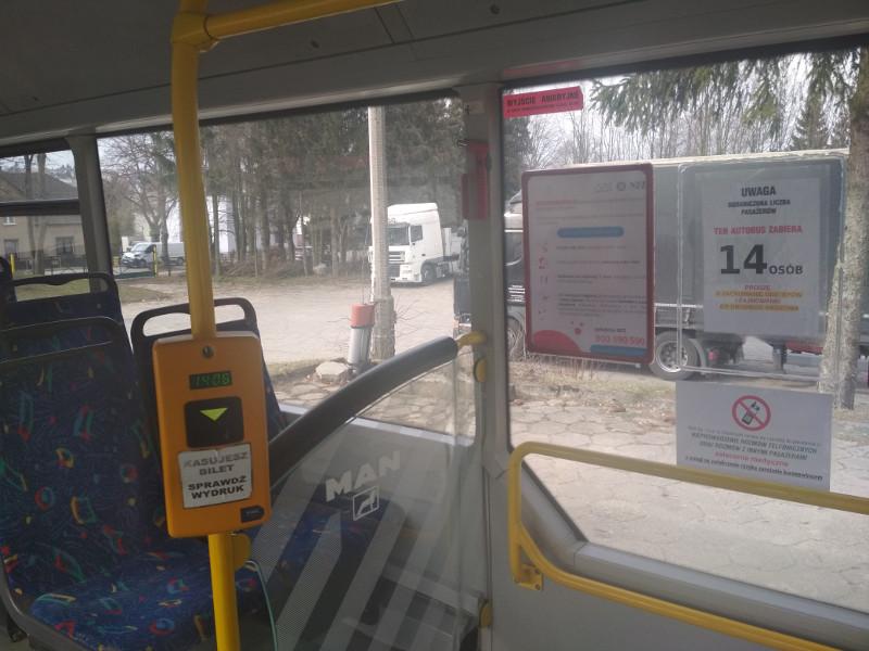 Mieszkańcy mniejszych miejscowości na terenie gminy Chojnice mają problem z zakupem biletów MZK