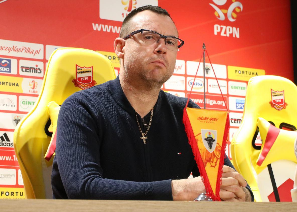 Wiele zależy od ustępstw płacowych ze strony zawodników. Jarosław Klauzo mówi w Weekend FM o przyszłości Chojniczanki