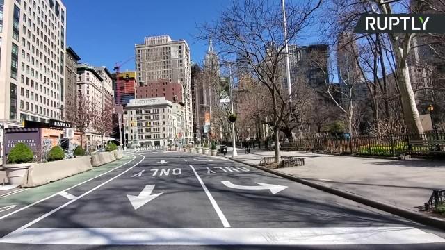 Ponad 21 tys. zakażonych koronawirusem w Nowym Jorku. Zamknięte centrum miasta