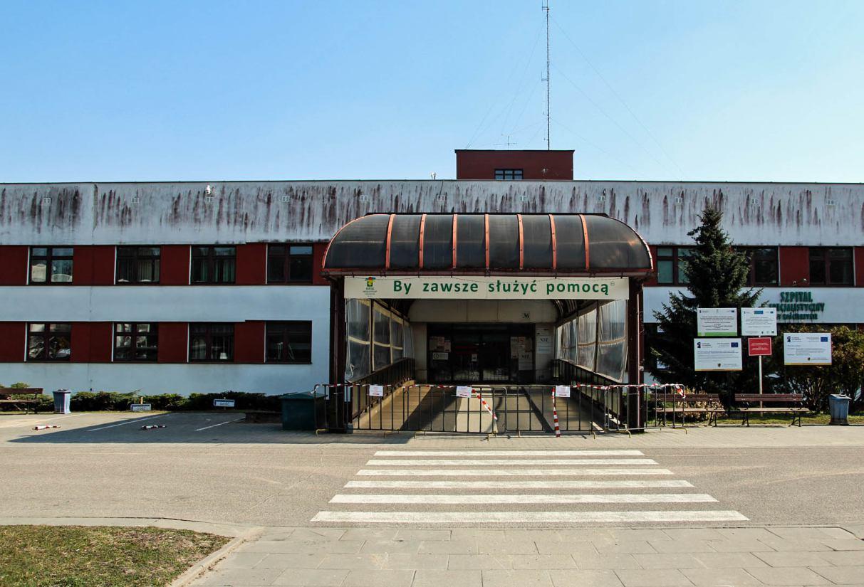 Szpital Specjalistyczny w Kościerzynie wraca do normalnej pracy