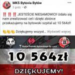 Bytów:  | Ponad 10 tys zł udało się zebrać kibicom i działaczom Bytovii na zakup potrzebnych środków ochrony dla szpitala