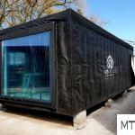 Chojnice:  | Chojnicka firma MTB pomaga szpitalowi: użyczy i dostarczy medyczny moduł do segregacji pacjentów