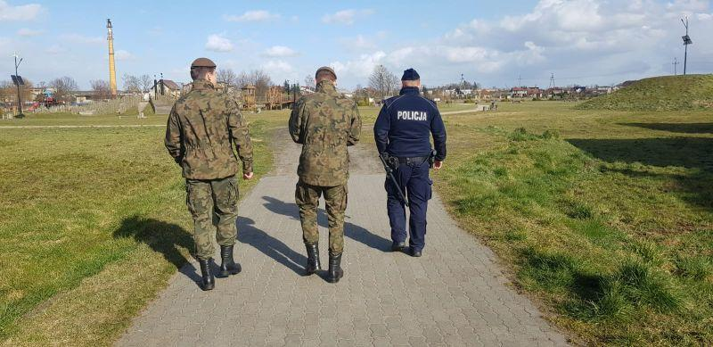 Wspólne patrole policji, Straży Miejskiej i Wojsk Obrony Terytorialnej w powiecie chojnickim