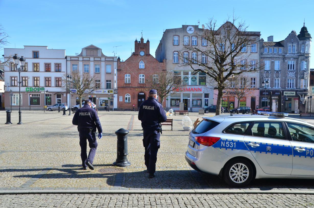 Kościerska policja odnotowała kolejne przypadki łamania restrykcji związanych z epidemią