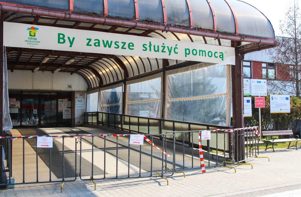 W Szpitalu Specjalistycznym w Kościerzynie wznowiono rehabilitację ambulatoryjną