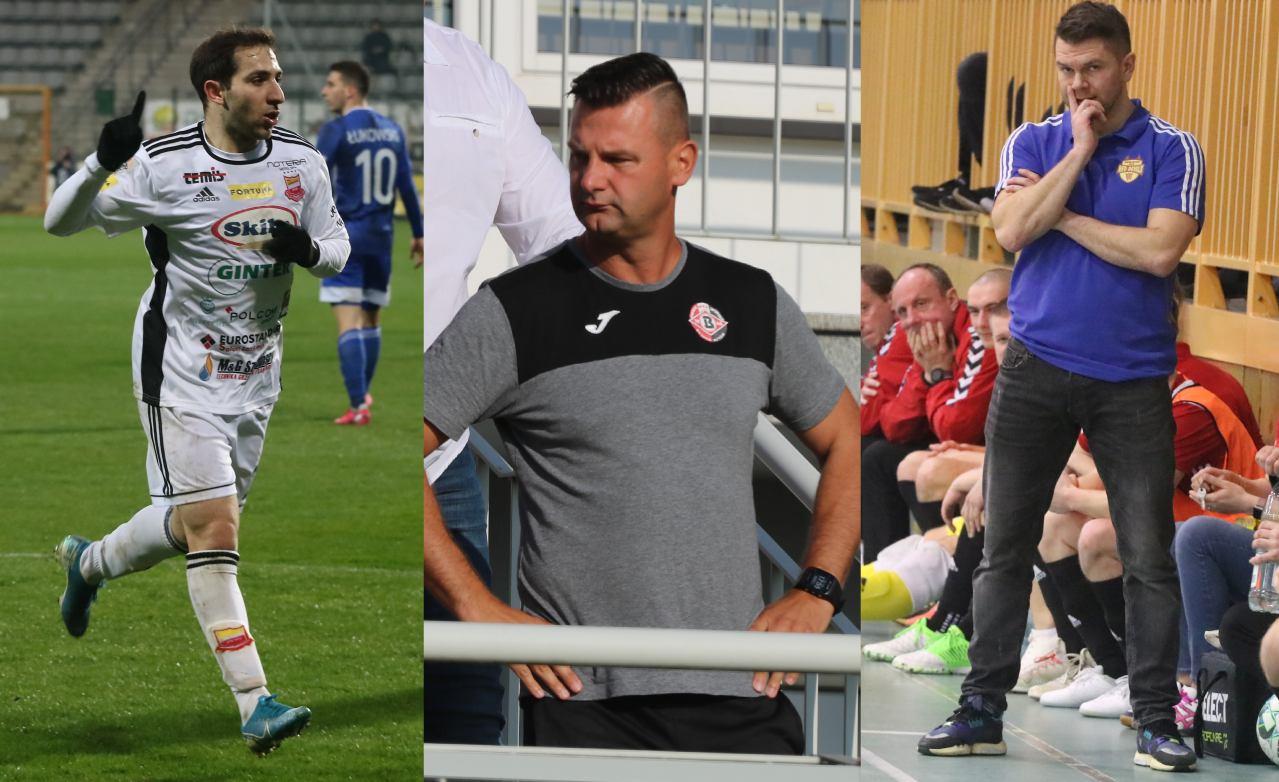 Piłka nożna wraca, futsal kończy. Trenerzy Bytovii i Red Devils oraz piłkarz Chojniczanki w Weekend FM