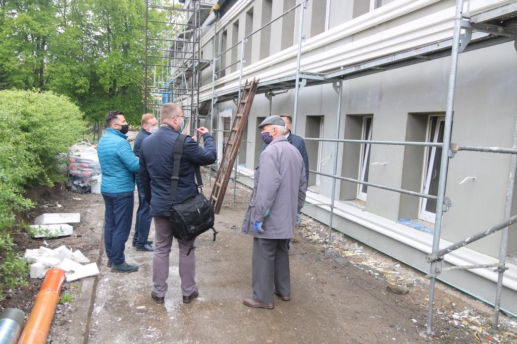 Remont Miejskiego Domu Kultury w Człuchowie wkracza w ostatnią fazę FOTO