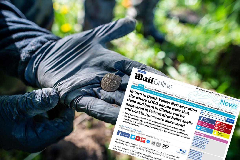 Brytyjskie media piszą o badaniach archeologicznych w Dolinie Śmierci pod Chojnicami NOWE ZDJĘCIA