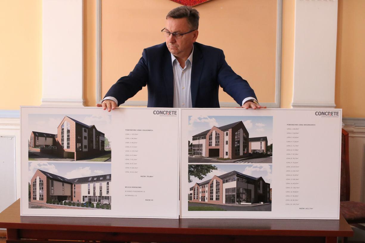 Deweloperzy budują w Człuchowie około 300 nowych mieszkań