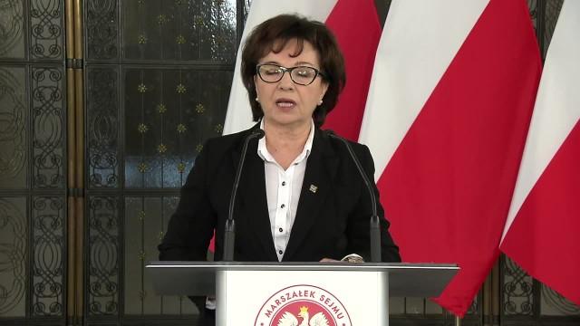 Marszałek Sejmu zarzuca Senatowi obstrukcję w związku z ustawą o wyborach prezydenckich