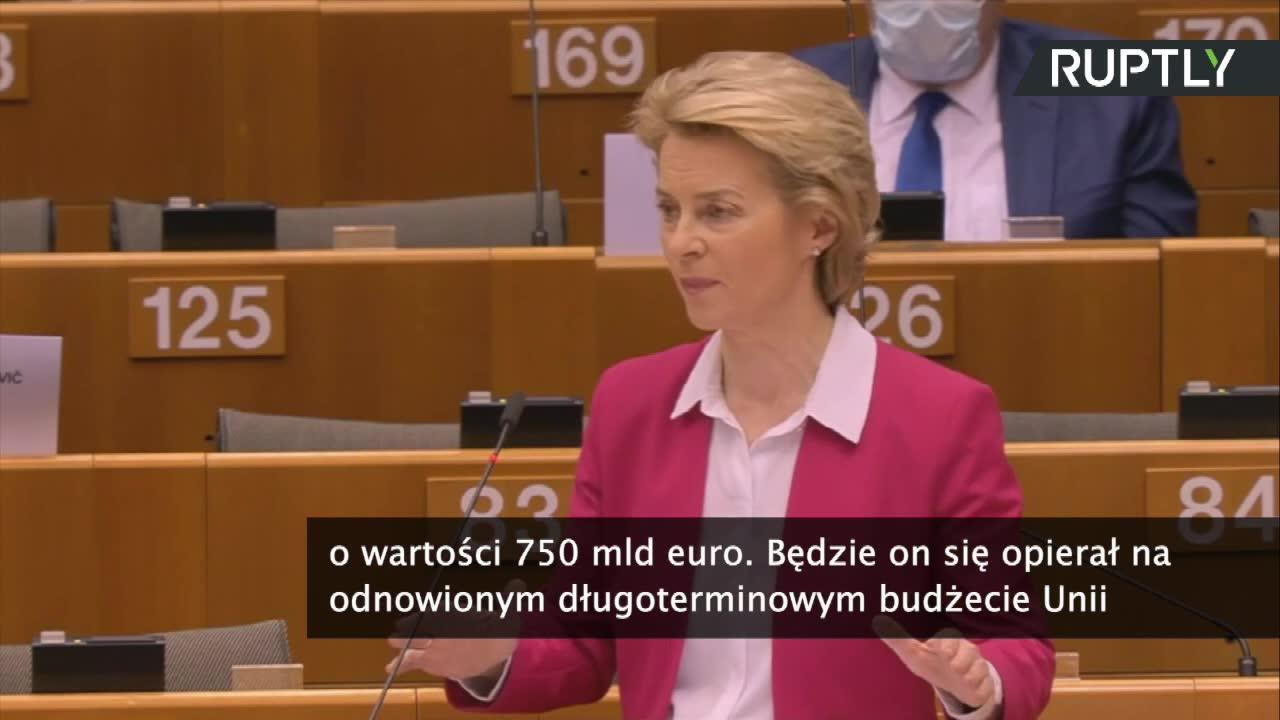 Unia wygospodaruje 2,4 biliona euro na walkę ze skutkami pandemii. Polska ma być czwartym największym beneficjentem nowego instrumentu