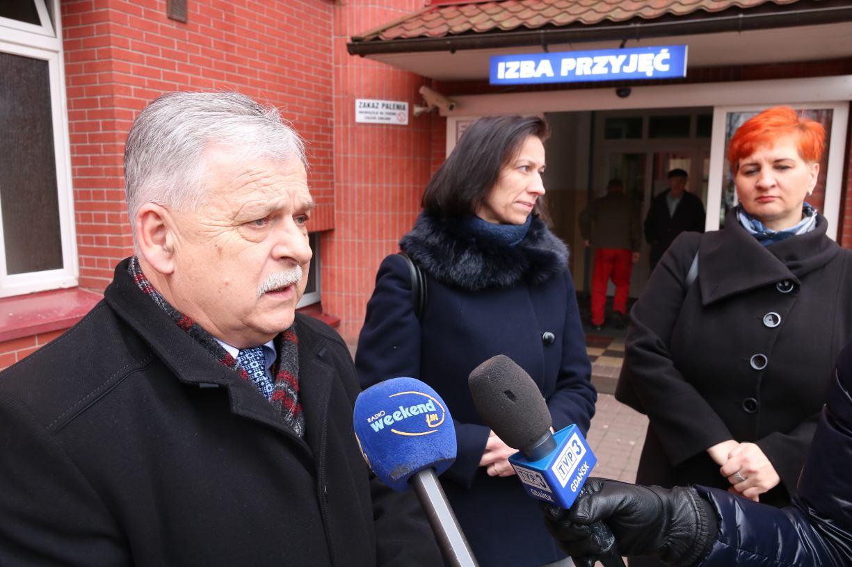 Poseł Aleksander Mrówczyński chce wstrzymać konsolidację szpitali w Człuchowie i Chojnicach