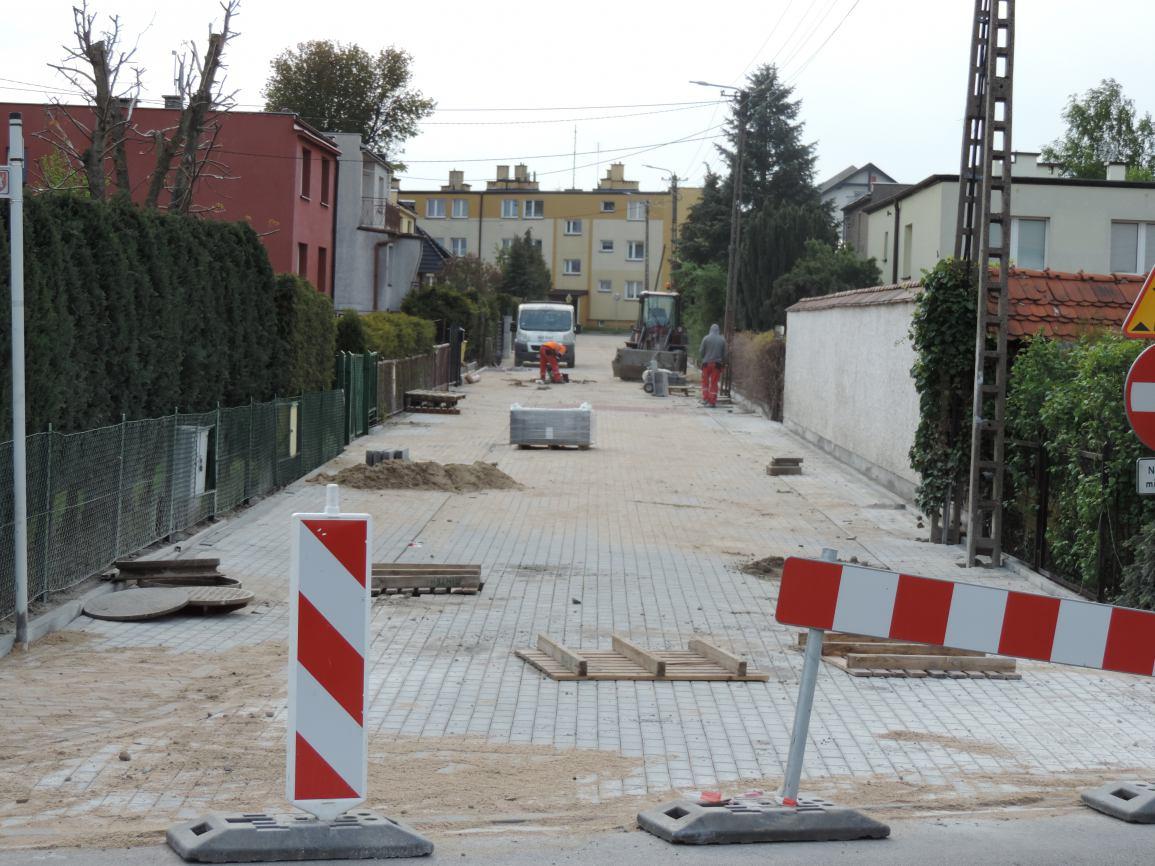 Przebudowa ulicy Mieszka I w Człuchowie zakończona