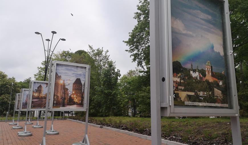 Zabytki Chojnic, czyli miasto okiem Daniela Frymarka. Wystawa plenerowa w Chojnicach