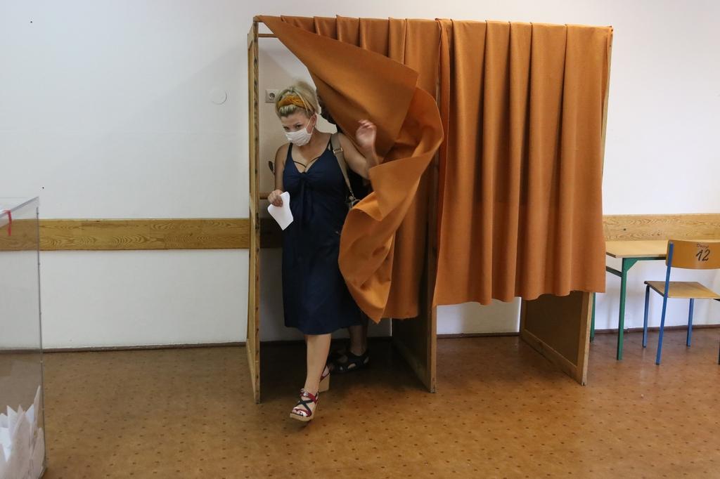 Trwa głosowanie w wyborach prezydenckich. Zobacz jak przebiega w Człuchowie FOTO