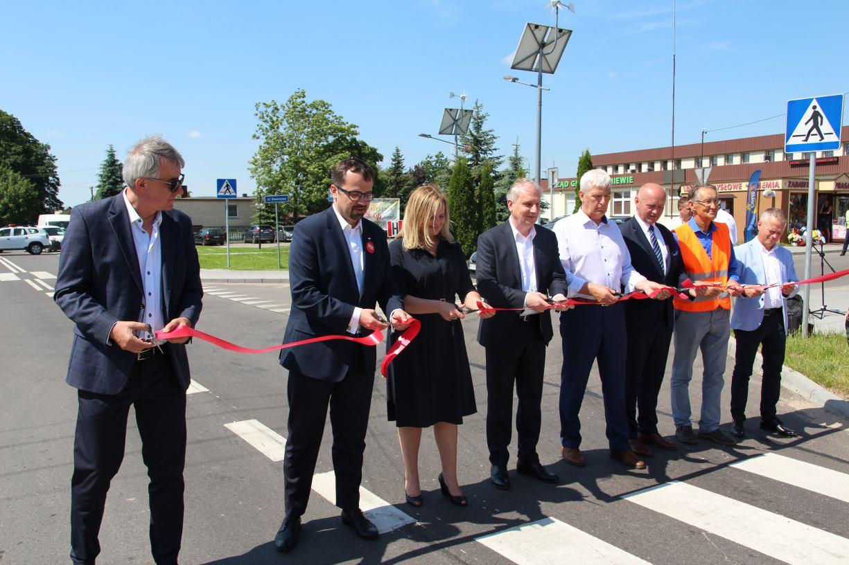 Powiat kościerski zakończył przebudowę dróg w Liniewie oraz odcinka Garczyn - Kobyle