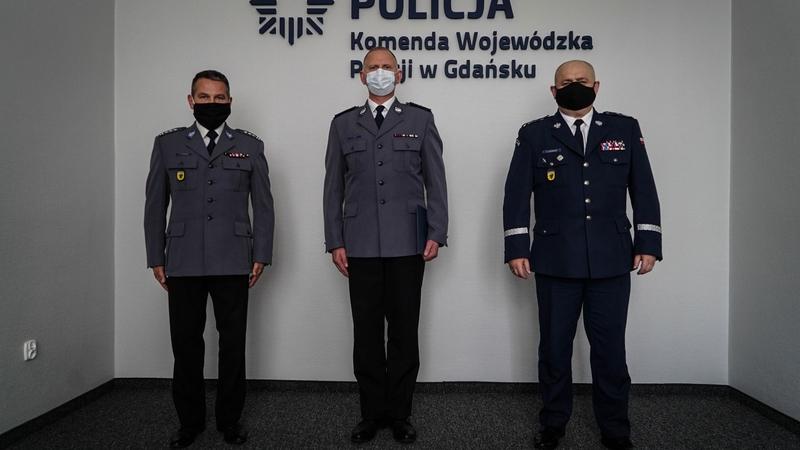 Komisarz Adam Bork już oficjalnie komendantem powiatowym policji w Kościerzynie