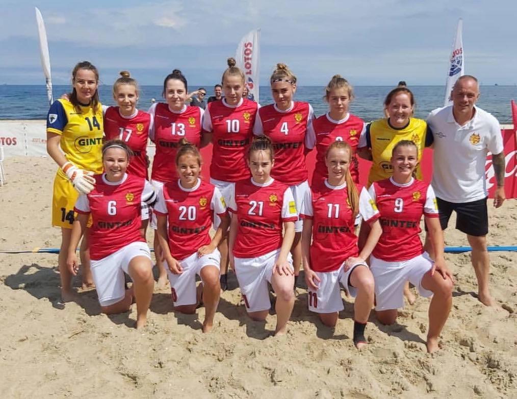 Red Devils Ladies zajęły trzecie miejsce w finale Pucharu Polski Kobiet w plażowej piłce nożnej