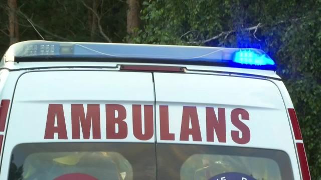 Kilkanaście osób, w tym dzieci, zostało rannych w zderzeniu dwóch autokarów i busa w Zachodniopomorskiem