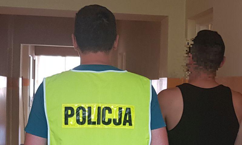 31-latek ukradł kamery w jednej z firm w Chojnicach, ale wpadł w ręce policji
