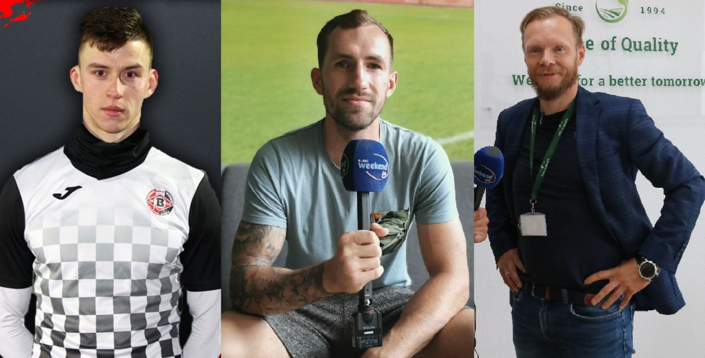 O piłce nożnej i triathlonie. Kamil Wiktorski, Adrian Piekarski i Paweł Nowak gośćmi Sportowego Weekendu