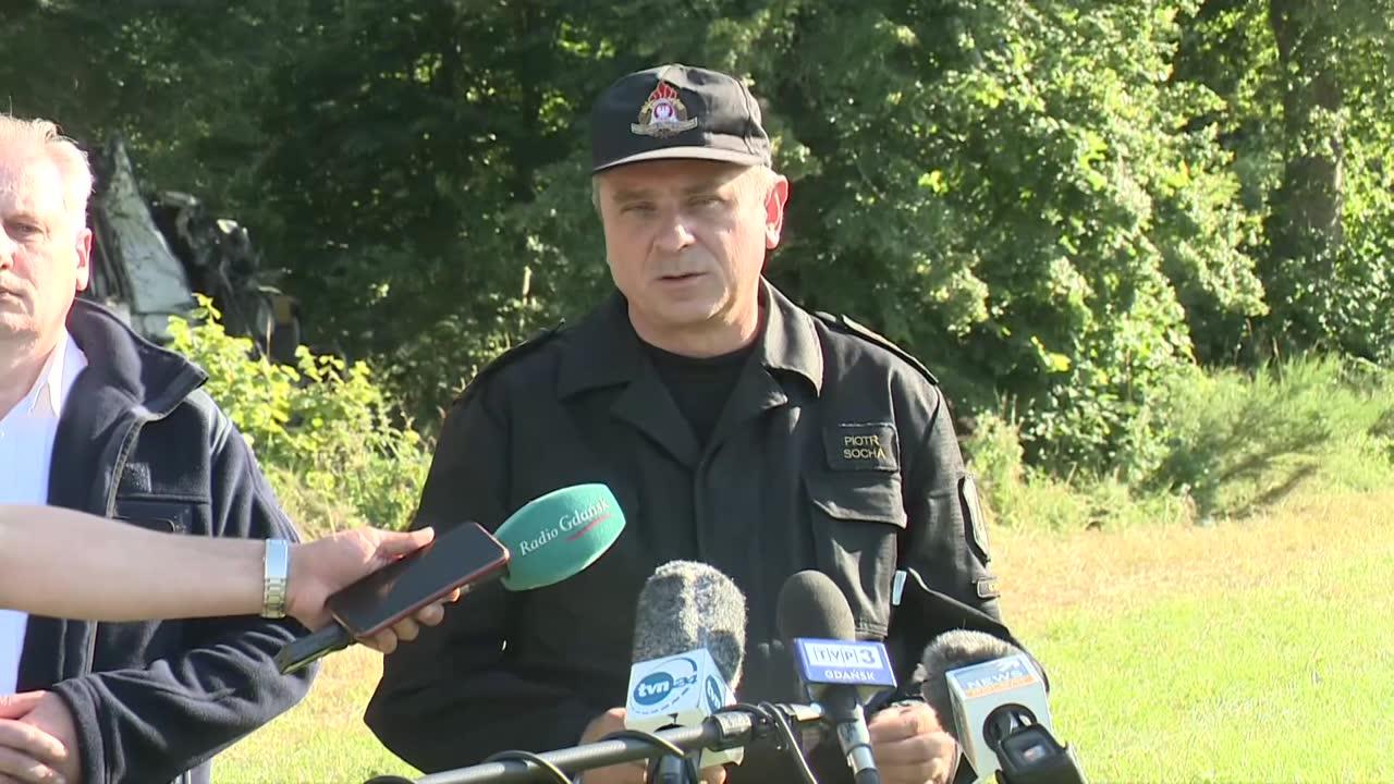 Trzy osoby zginęły w wypadku z udziałem autobusu i samochodu osobowego pod Wejherowem