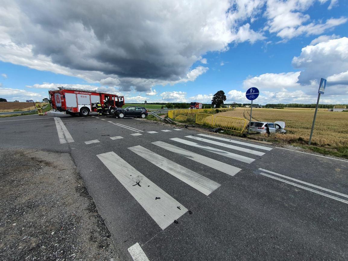 Samorządowcy chcą walczyć o rondo na skrzyżowaniu dróg wojewódzkich 212 i 236 w Konarzynkach