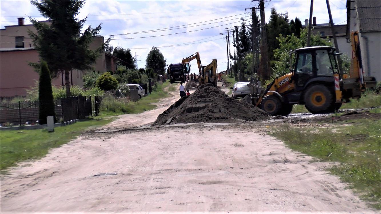 Ruszyły prace budowlane na ulicy Runowskiej w Wituni koło Więcborka